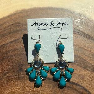 Anna & Ava Chandelier Drop Earrings Brand New!